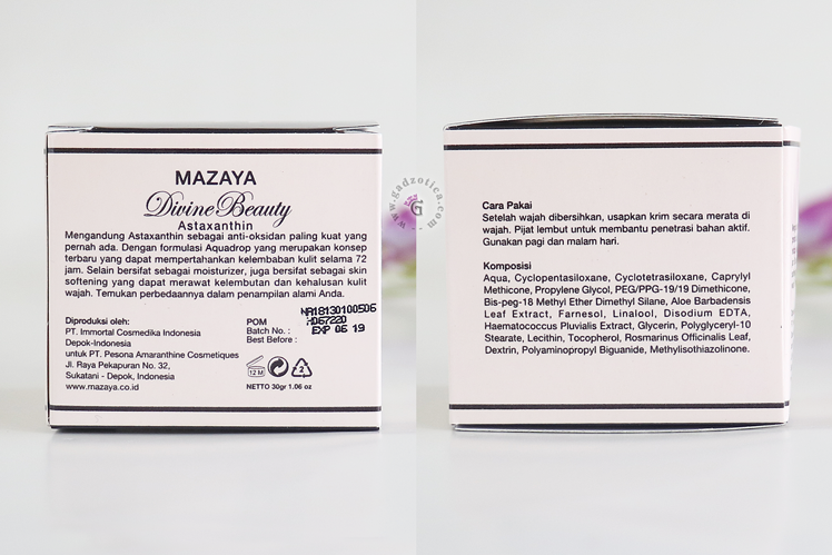 Mazaya Moisturizer Review