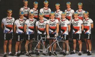 L'équipe cycliste Miko-Tönissteiner-Carlos, 1986