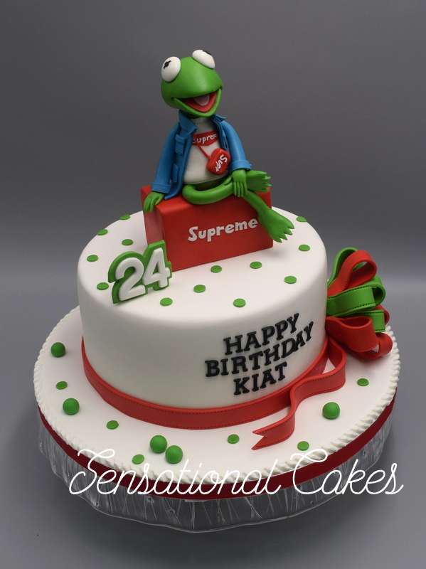 Enjoyable The Sensational Cakes Kermit The Frog 3D Cake Singapore The Funny Birthday Cards Online Sheoxdamsfinfo