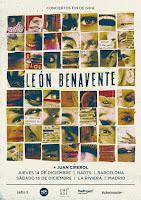Conciertos fin de gira León Benavente