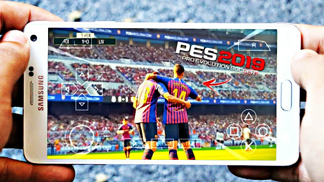 PES 2019 Official Lite Android Offline Update With Comentry Graphics HD