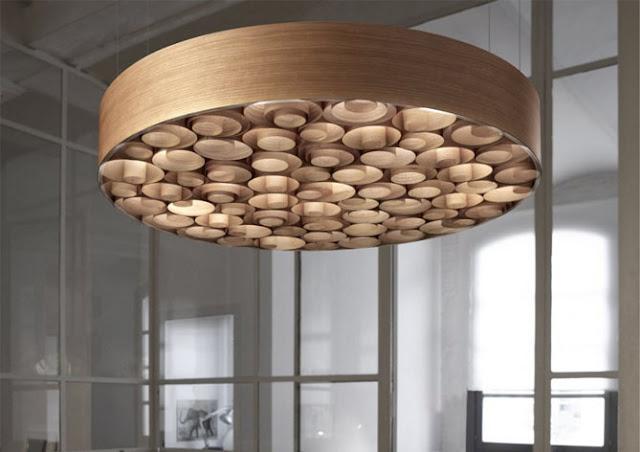 Lmparas de maderaEspacios en madera