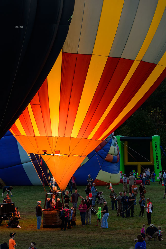 Night Glow at Carolina BalloonFest