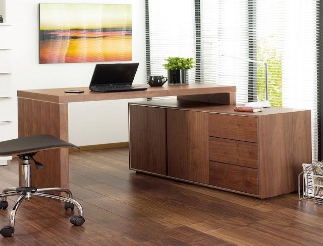 best buy modern home office furniture walnut sets for sale