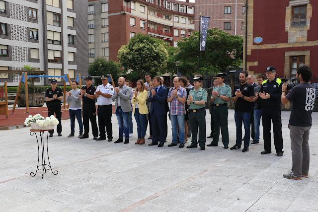 Acto de homenaje a Miguel Ángel Blanco