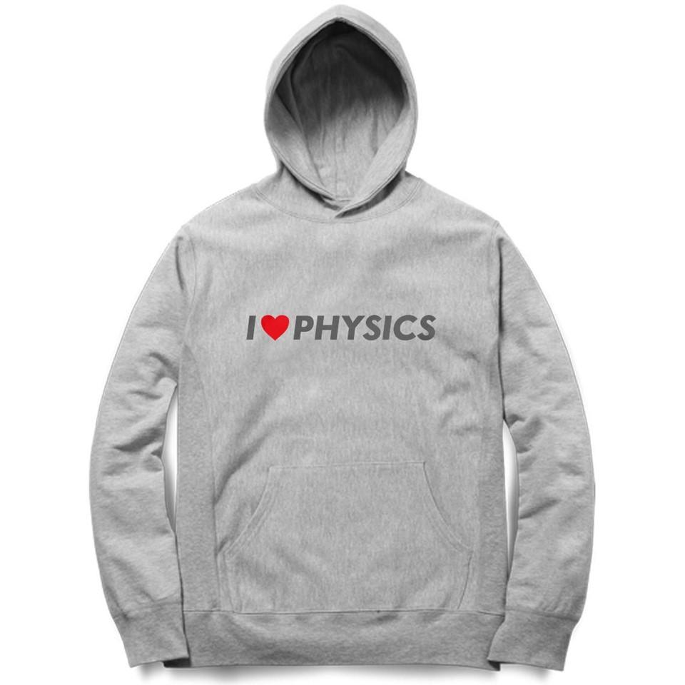 i love physics grey