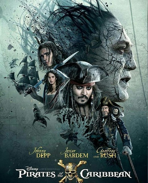 Poster of Pirates of the Caribbean (Latest Franchise)