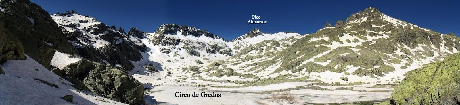 Circo de Gredos, iniciación invernal
