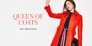 Shop the Pretty Red Boden Coat