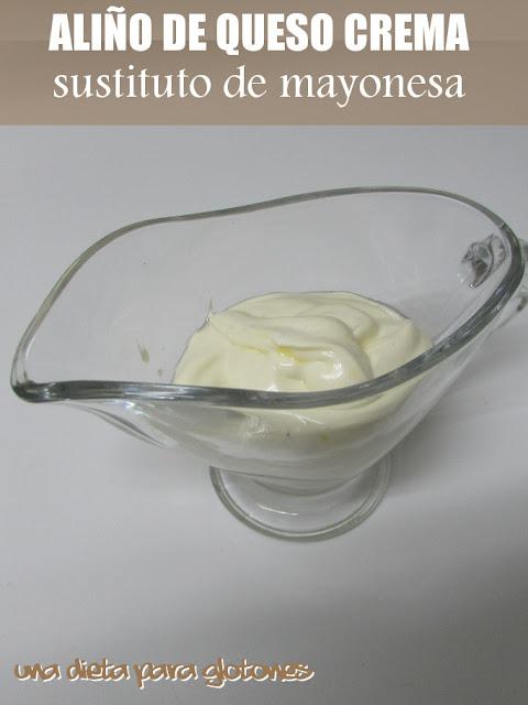 """Aliño de queso crema (""""quesonesa"""")"""