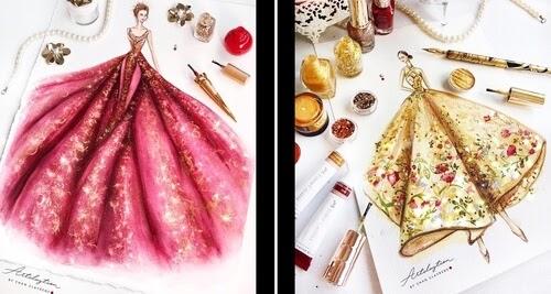 00-Clayrene-Chan-Drawings-of-Lavish-Flowing-Dress-Designs-www-designstack-co