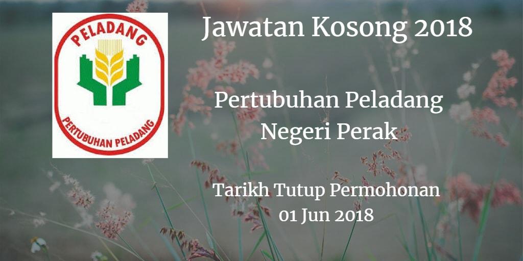 Jawatan Kosong Pertubuhan Peladang Negeri Perak 01 Jun 2018