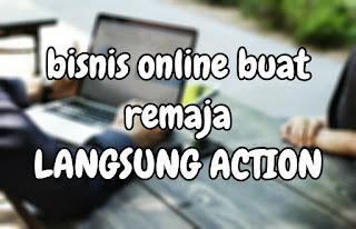 Bisnis online remaja