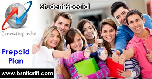BSNL prepaid plans - Friends and Family to Student special plan