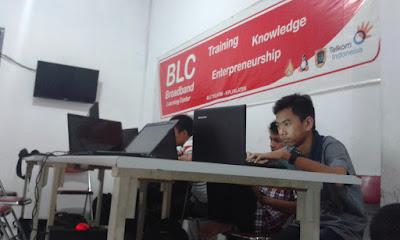 Hari Pertama Praktek Kerja Lapangan di BLC Telkom Klaten