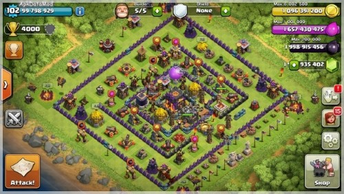 Clash of Clans Familiar House To Live Apk Mod