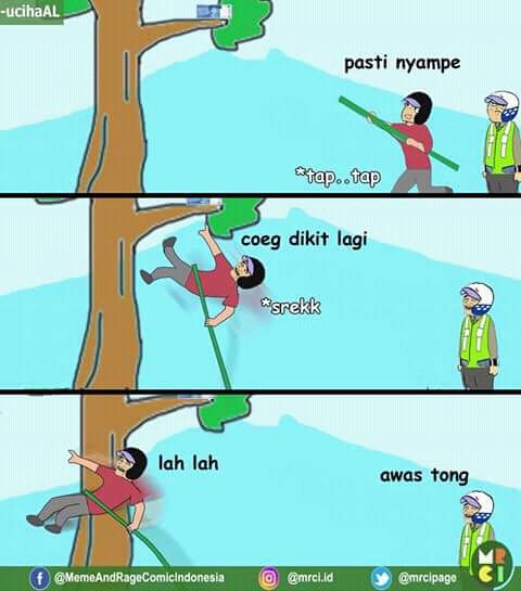 Komik Meme Episode Duit