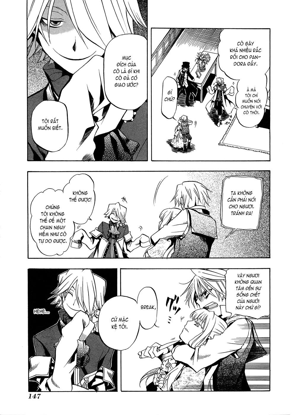 Pandora Hearts chương 004 - retrace: iv rendezvous trang 15