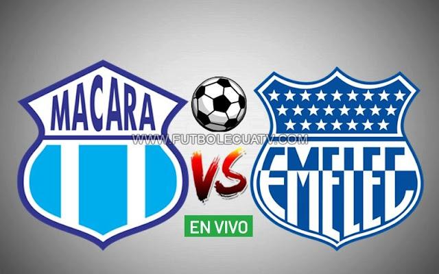Macará recibe a Emelec en vivo ⚽ por la jornada tres del campeonato ecuatoriano a realizarse ✅ en el Estadio Bellavista de Ambato a partir de las 17h30 horario local, siendo el árbitro principal Augusto Aragón con emisión del medio autorizado GolTV Ecuador.