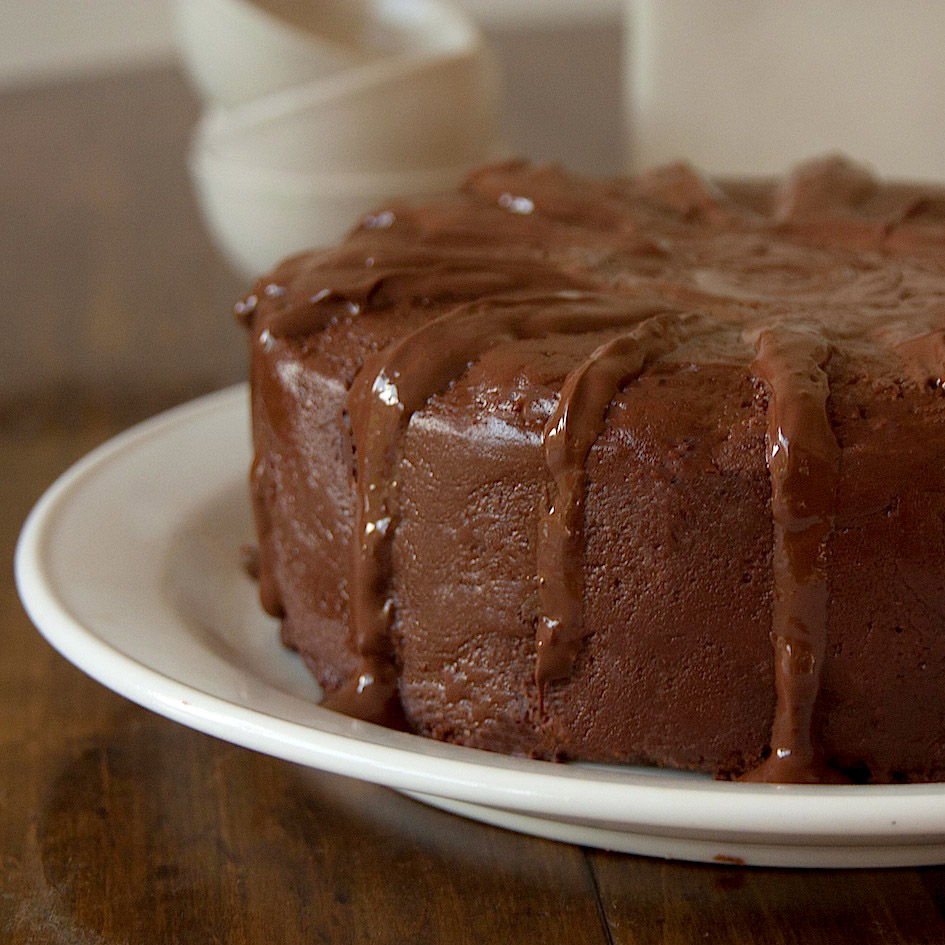 The Hedonista Recipes Real Chocolate Chocolate Cake