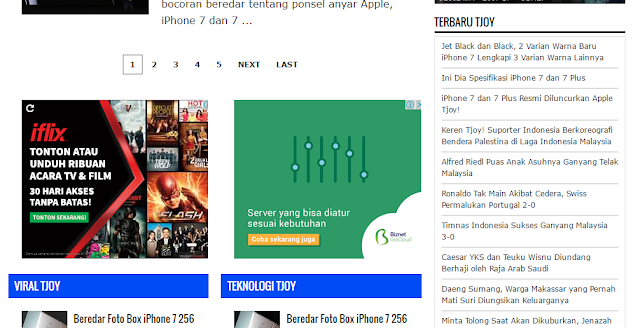 cara memasang widget recent post di sidebar