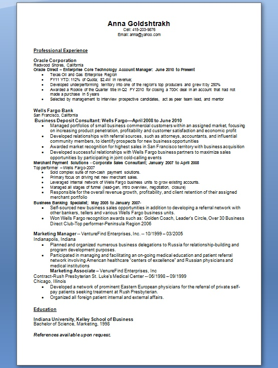 marketing manager resume samples in word format free download