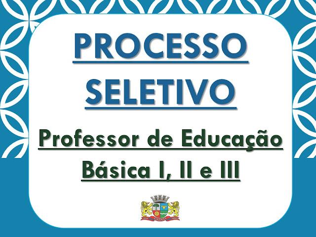 PROCESSO SELETIVO PARA PROFESSOR EM CAJATI: GABARITO