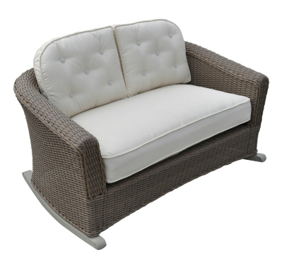 Copy Cat Chic Crate And Barrel Summerlin Rocking Loveseat