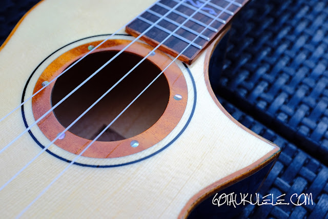 Mr Mai MD-T Tenor Ukulele decoration