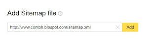 Cara mengirim sitemap ke yandex webmaster tools