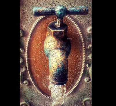 An Old time Faucet by Tammy Lang Jensen
