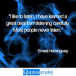 Ernest Hemingway Wisdom Quotes