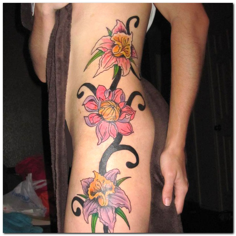 Flower Tattoos Designs Ideas And Meaning: Flower Tattoo Designs For Women