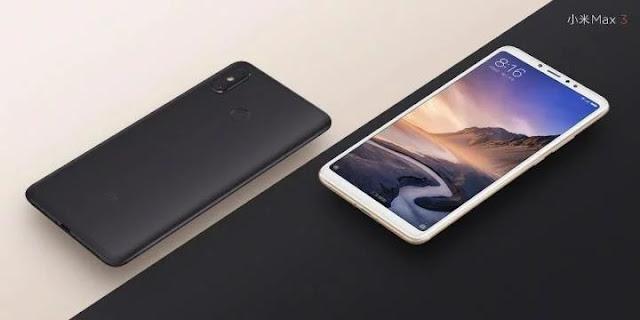 Muncul Tampilan Resmi Xiaomi Mi Max 3 dengan Baterai Besar