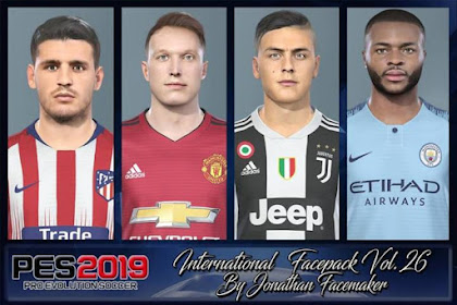 International Facepack Vol. 26 - PES 2019