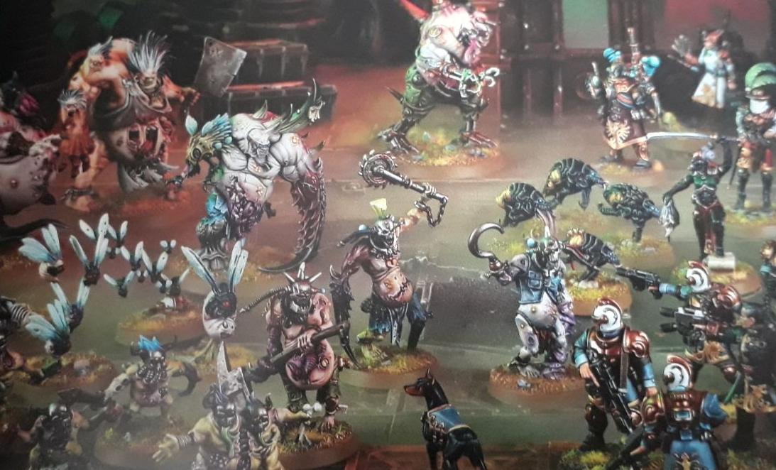 how to play warhammer 40k kill team