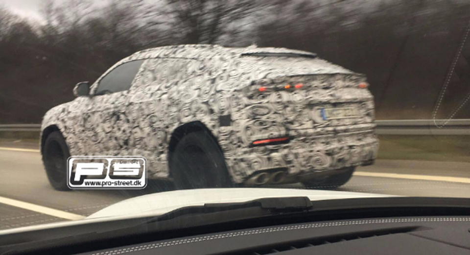 Lamborghini Urus Spied Testing For the First Time