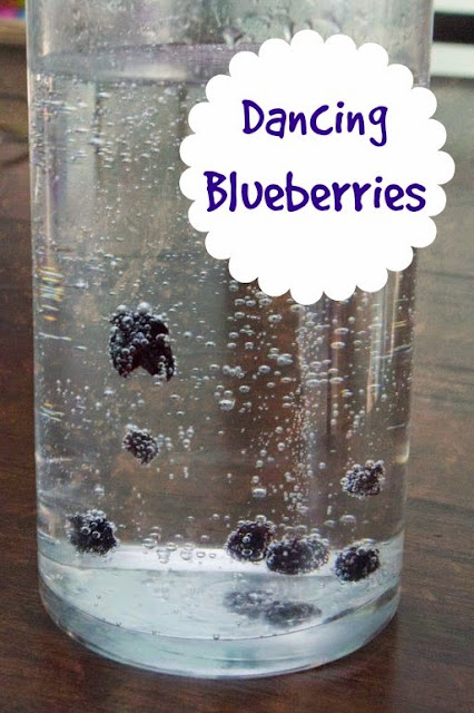 Make Blueberries Dance with this Simple Science