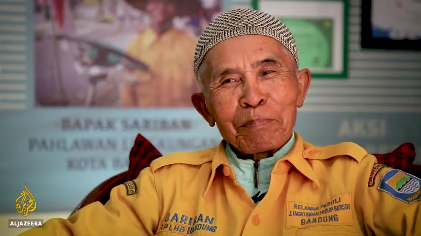 Sariban pahlawan kota Bandung
