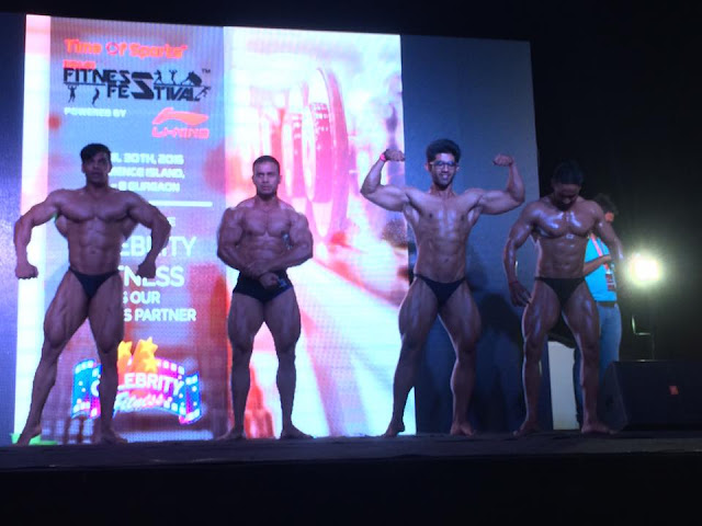 Indian Fitness Festival witnessed an overwhelming response from over 900 fitness enthusiasts at India's first and largest festival on fitness