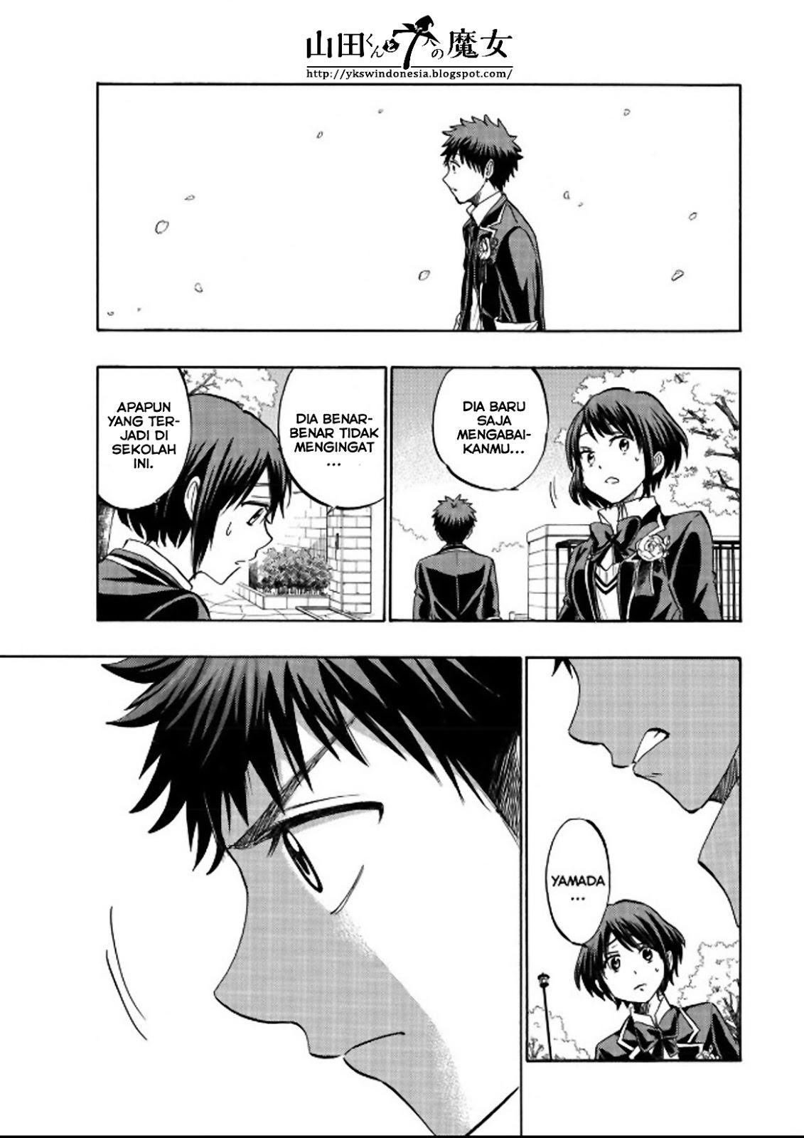 Yamada-kun to 7-nin no Majo Chapter 241-11
