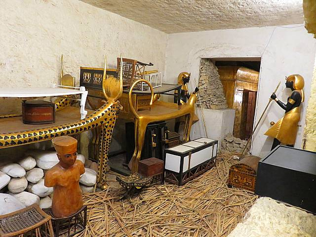Replica of Tutankhamun's Tomb