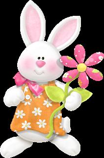Clipart Pascua en Primavera.