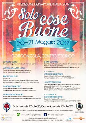 Solo Cose Buone: Sagra dei Sapori d'Italia 20-21 maggio Gorgonzola (MI)