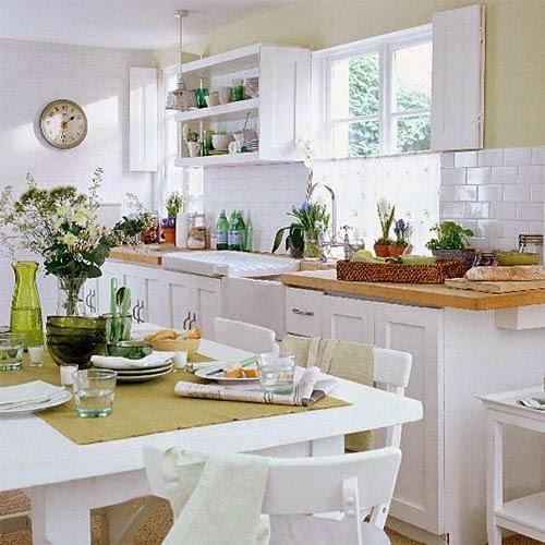 Decotips trucos para ganar calidez en la cocina decoraci n - Antisalpicaduras cocina ...
