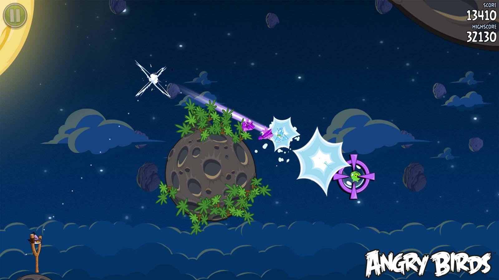 تحميل لعبة Angry Birds Space مضغوطة برابط واحد مباشر كاملة مجانا