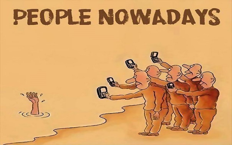 These 30+ Cartoons Illustrate How Smartphones Are The Death Of Conversation - People Nowadays