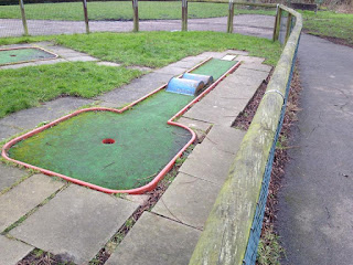 Crazy Golf course in Mill Hill Park. Photo by Matt Dodd, February 2016