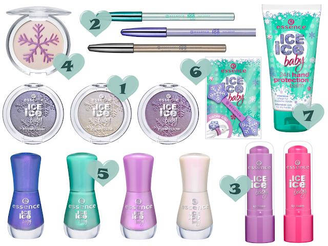 Preview - essence Ice Ice Baby - limitierte Kollektion (LE) - Januar 2014