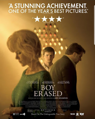 Boy Erased 2018 DVD R1 NTSC Latino